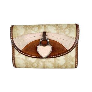 Christian Dior Key Holder Leather Wallet